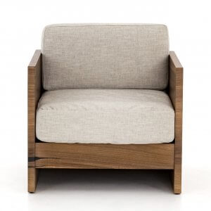 Ly Teak Wood Arm Chair