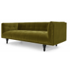 Nor 3 Seater Sofa, Olive Cotton Velvet