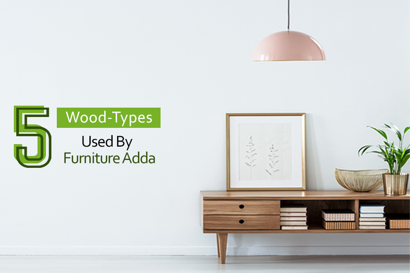 5 types of wood used by Furniture Adda