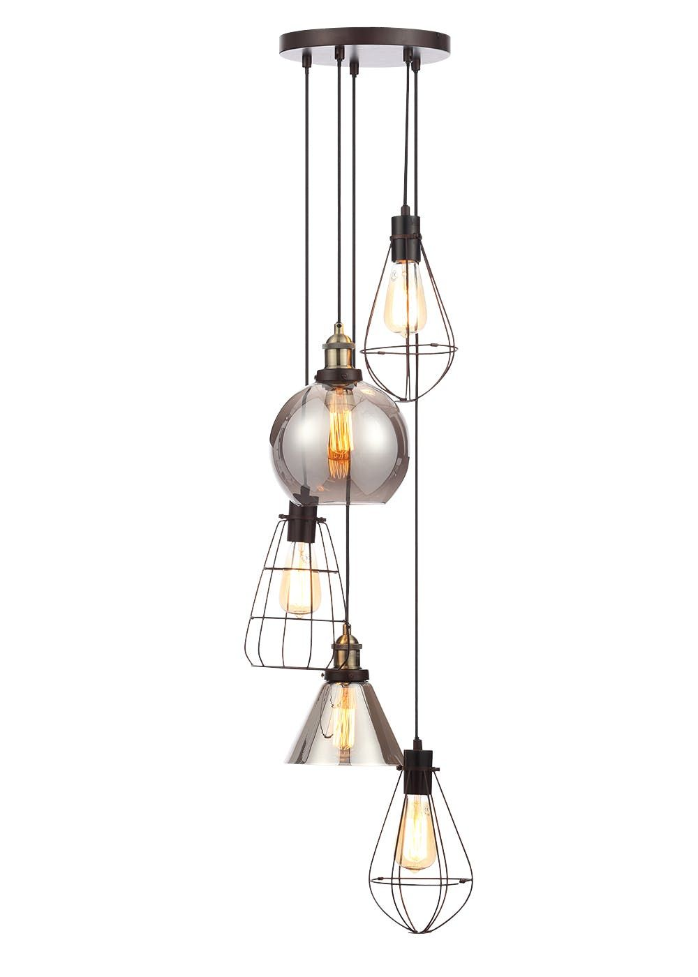 cluster globe lighting furnitureadda